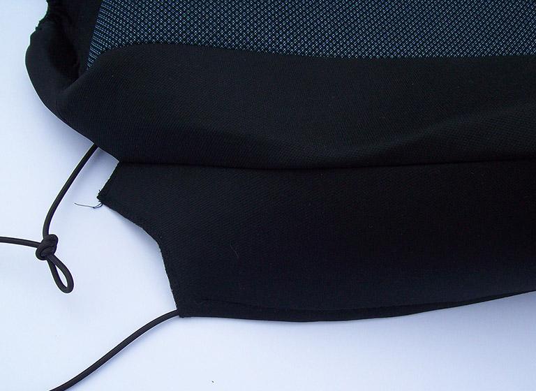 Pokrowiec na siedzisko montowany na gumowy sznurek